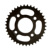 36T 428 Black Motorcycle Sprocket for Honda