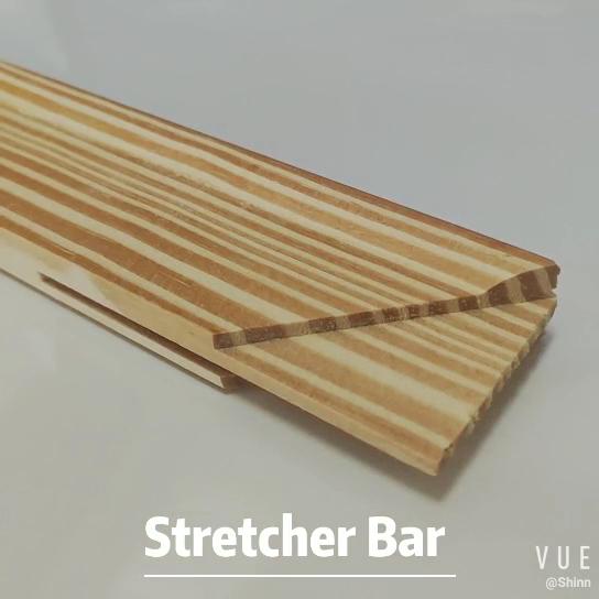 Commercio all'ingrosso di legno di pino cornici diverse dimensioni di tela barella bar