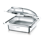 Square Electric Temperature Adjustable Catering Chafing Dish World Cup Food Warmer Chafer