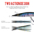 KINGDOM Model Sinking 9504 Pencil Bait With Strong Hooks 100mm 135mm For Sea Fishing Hard Fishing Lures Wobblers OEM
