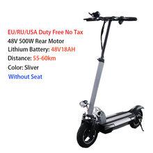 ES склад Электрический скутер 100 км мощный электрический скейтборд для взрослых с сидением складной Ховерборд Patinete Eletrico E скутер(Китай)