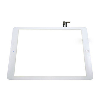 USA For iPad 5 air White Digitizer Touch Screen Front Glass Replacement+Home Button