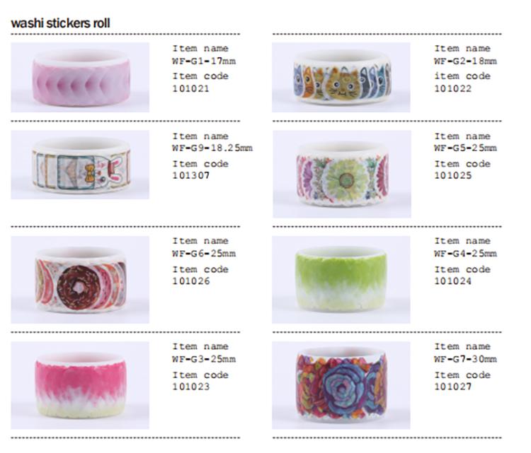 ที่มีสีสันเทปwashiของขวัญงานฝีมือ, diyของขวัญงานฝีมือ