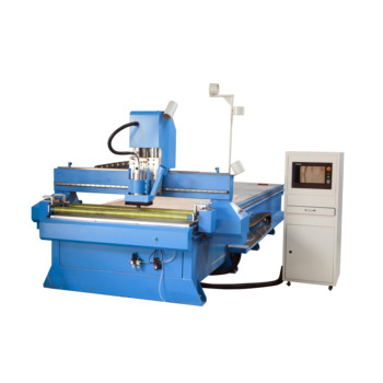 Adopts programmable control system, super large touch screen, visual and understandable CNC wood cutting machine for sale