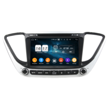 Klyde KD 8211 autoradio 2 din gps dvd player android car multimedia system per Verna 2017