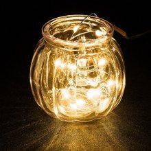 Сказочный светильник декоративный светильник с 8 функциями дистанционного управления и батарейным отсеком 10 м 100 светодиодный 3AA аккумулят...(Китай)