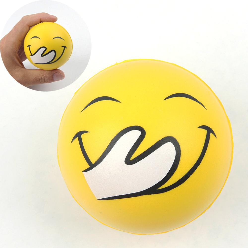 Custom Logo PU Stress Ball Antistress Ball Stress Reliever Ball