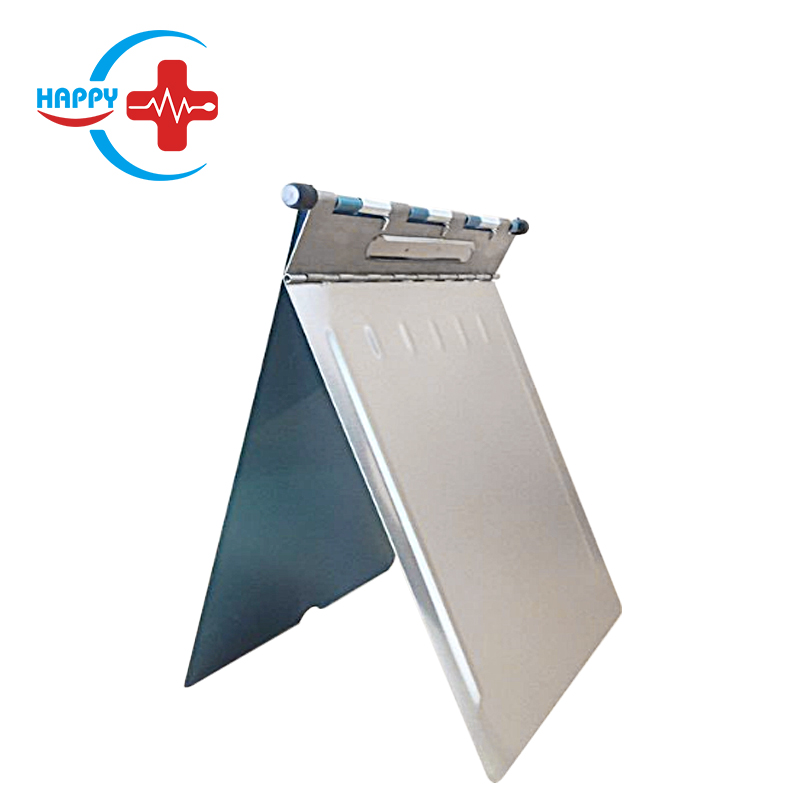 HC-M098 Wholesale Medical Record Folder Stainless Steel Case History File Folder ,chart file