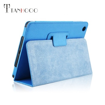 Fashion ultrathin grain leather tablet pc protective  case covers  For mini 1/2/3  accessories