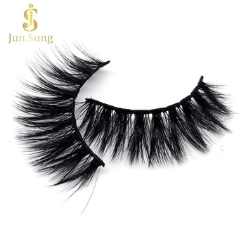 High Quality 3d Mink False Eyelashes Faux Eyelashes Private Label Packaging