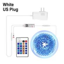 Tuya Smart Life App WIFI Светодиодная лента 4040 SMD 5 м Tuya умный дом Голосовое управление работа с Amazon Alexa Echo / Google домашнее освещение(Китай)