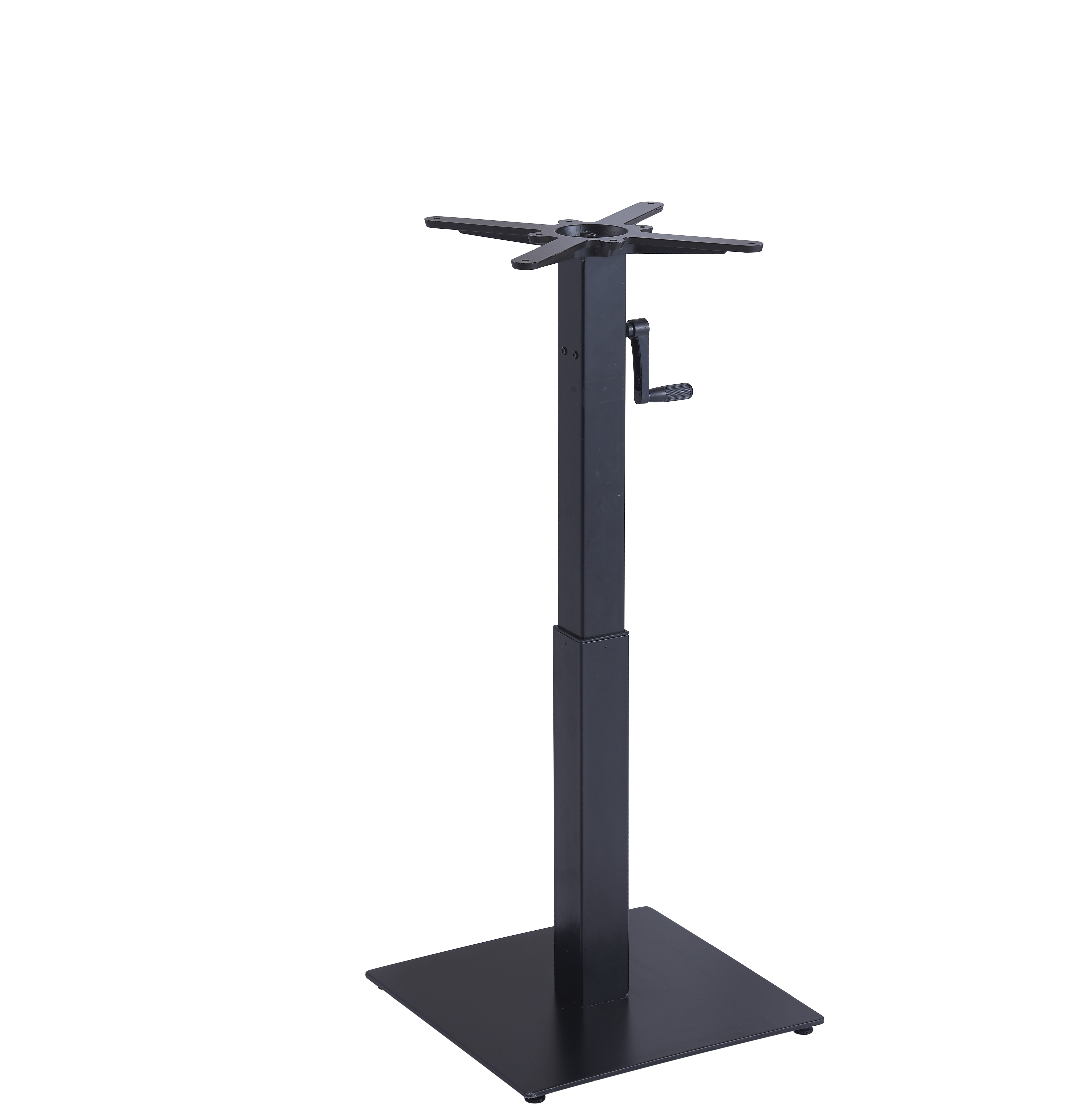 Plastic Bar Table leg hand crank lift table