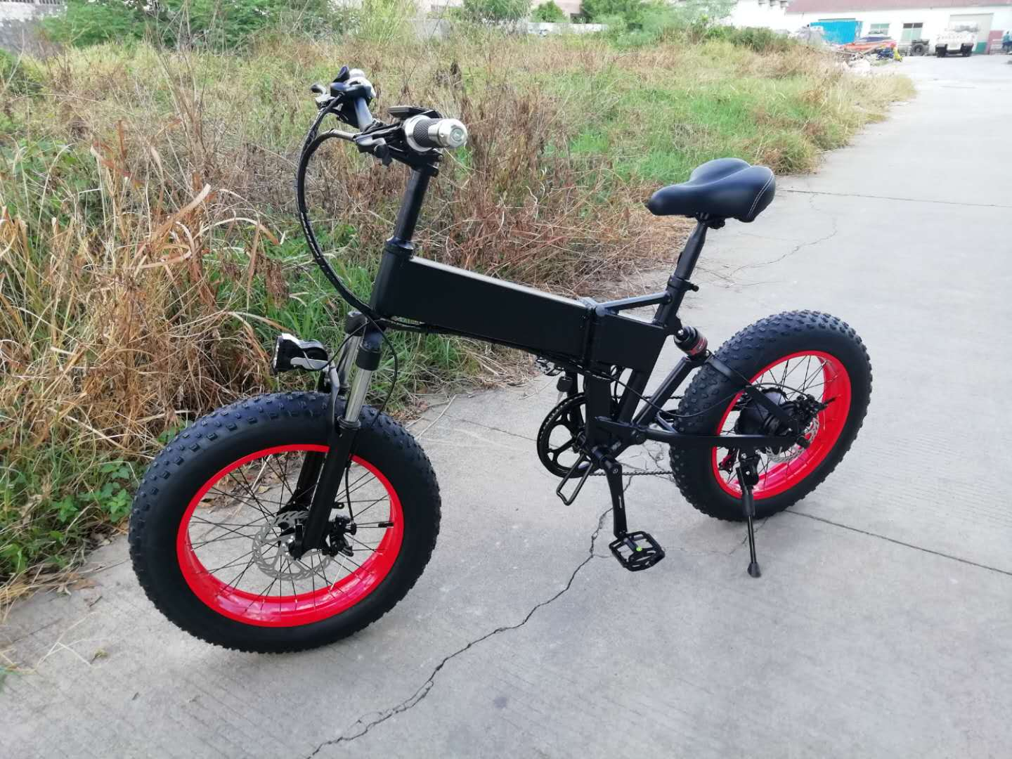 "fat tire 20"" wheel full suspension  14ah/ 48v lithium battery 750w/48v motor   folding electric bike mountain ebike"