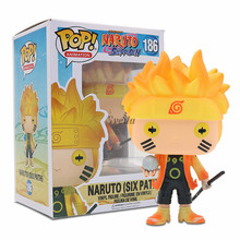 Prix usine Naruto Funko POP Figurines Naruto(SIX CHEMIN) #186 PVC Vinyle Figurine Naruto <span class=keywords><strong>D</strong></span>'animation Funko POP Jouets