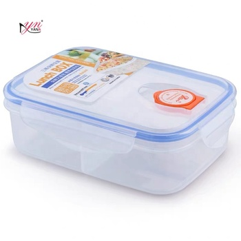 Eco Friendly Airtight Restaurant Fast Food Plastic Container Storage For Coffee Tea Sugar
