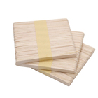 Hot sale bundled wooden wax popsicle sticks wooden ice cream stick