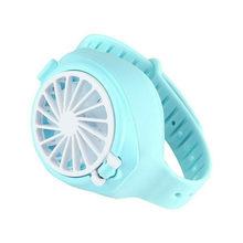 Бесшумный маленький USB вентилятор, портативный вентилятор для часов, портативный складной мини-вентилятор для очистки воздуха, USB-вентилято...(Китай)