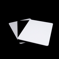 yageli china factory perspex supplier customized lucite board luminous white acrylic sheet lucite panel