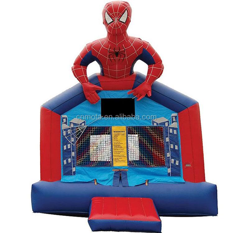 Spiderman gonflable maison de rebond de château spiderman sautant rebond pour les enfants
