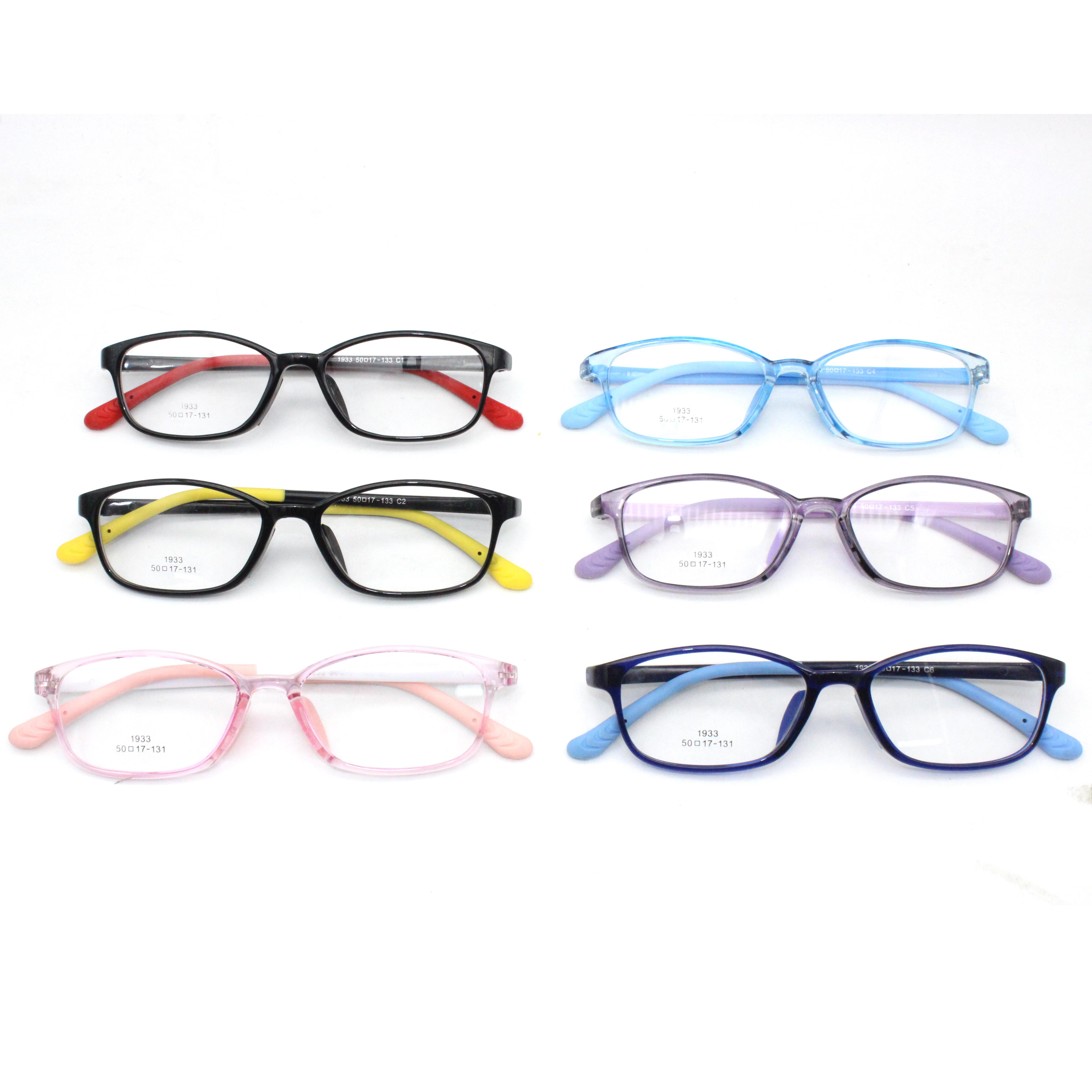 ซิลิโคนวัด TR ด้านหน้าเด็ก Eye กรอบคุณภาพสูงแว่นตาเด็กแว่นตากันแดด Blue Light ของขวัญคริสต์มาสสำหรับเด็ก