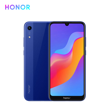Huawei Honor 8A 6.09 inch MTK6765 Android 9.0 8.0MP+13.0MP camera 3020mAh face unlock Smart Mobile phone
