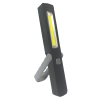 160LM protatable Slim 3W COB Dry Cell WORK LIGHT with adjustable bracket and hook for inspection and repairing light