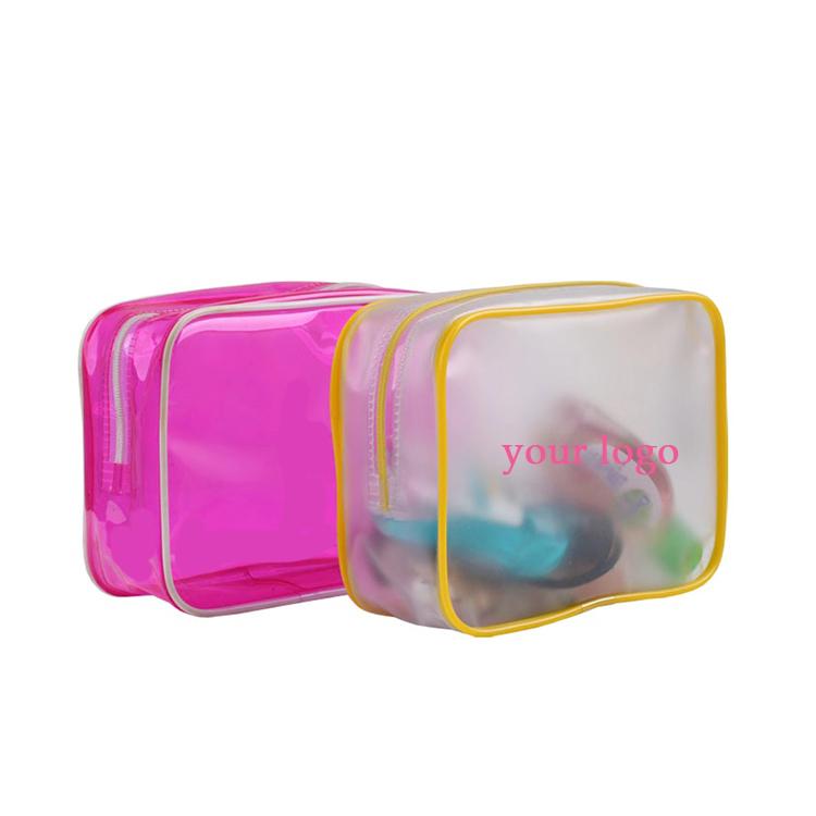Neue design mode süßigkeiten verpackung taschen Kunststoff Tasche PVC KOSMETISCHE mit fabrik preise