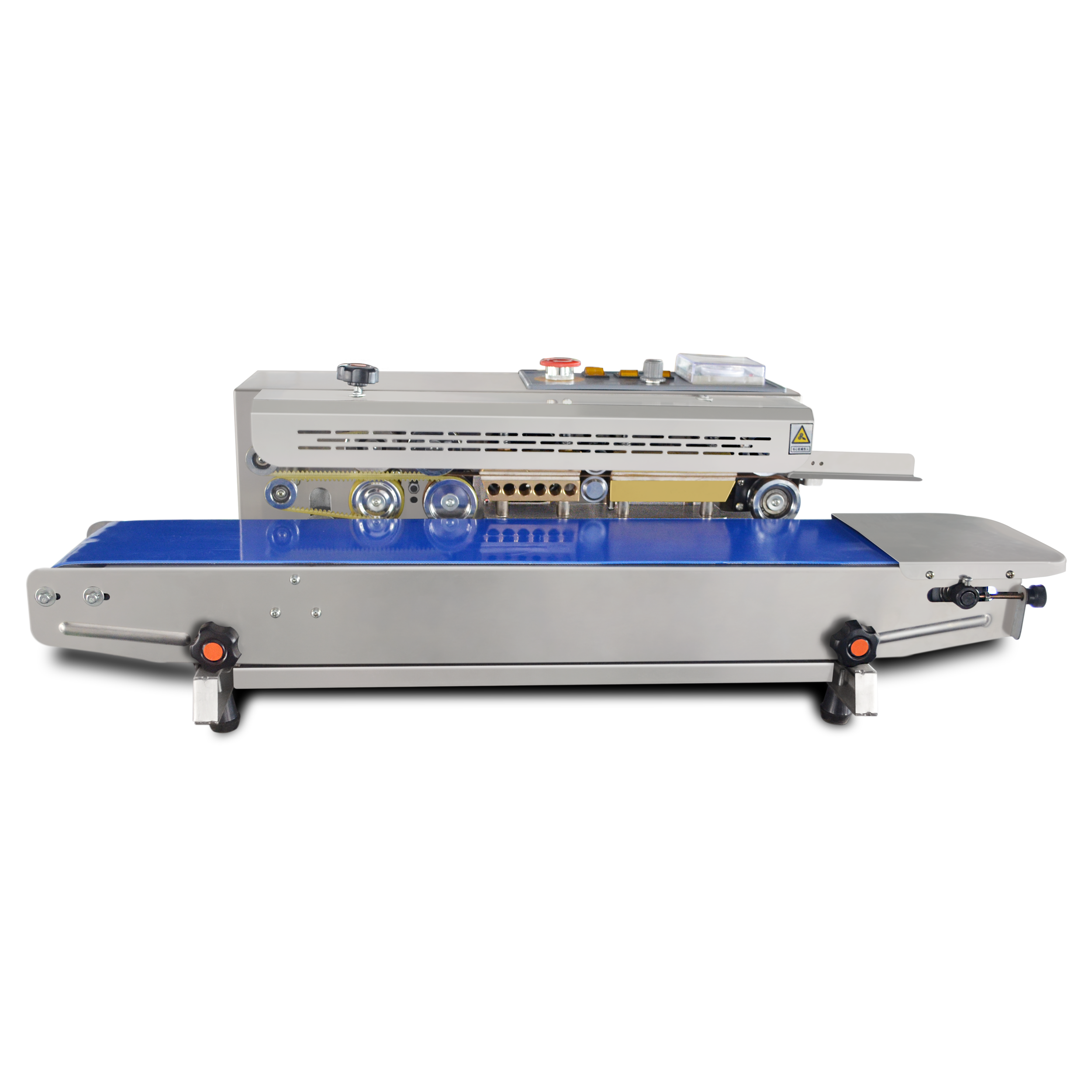 DBF-900W continuous band sealer with printing