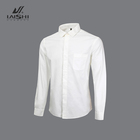 High Quality Custom 100% Cotton White Long Sleeve Business Plain Formal Office Tuxedo Shirt