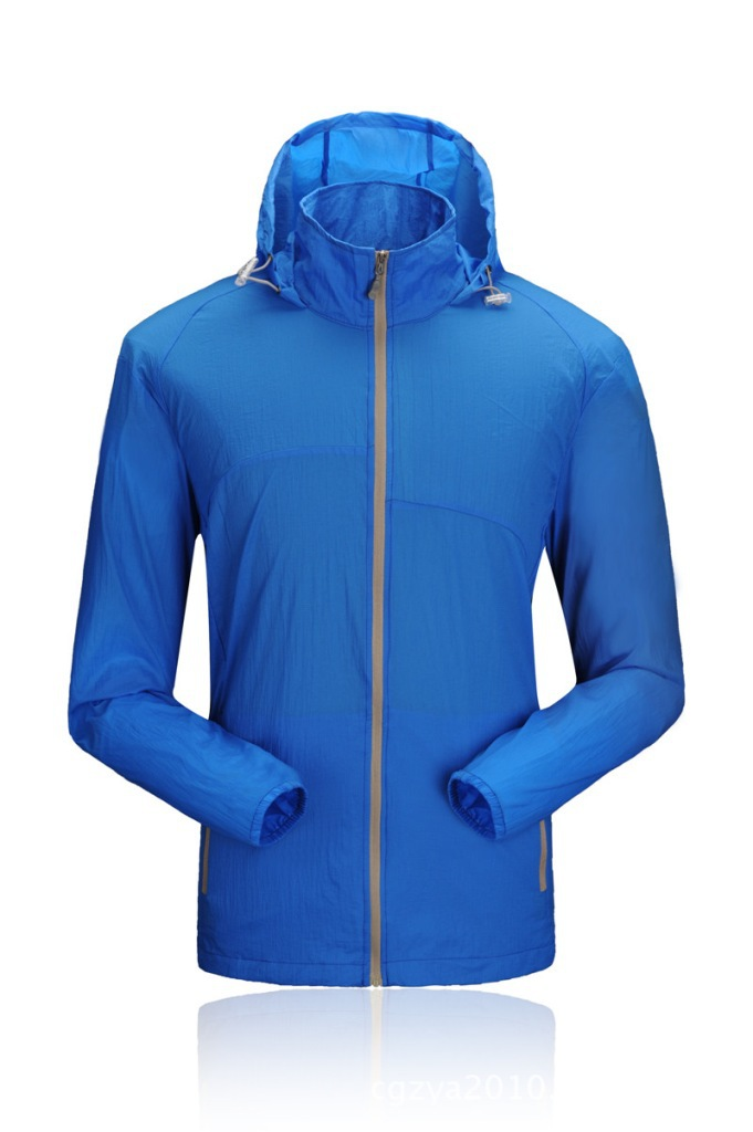 wholesale quickly dry cheaper sport clothing unisex golf sport protect skin wear sun protection wind breakers jackets