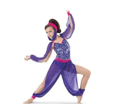 Beautiful purple seuqin <strong>belly</strong> <strong>dance</strong> stage costumes for women performance