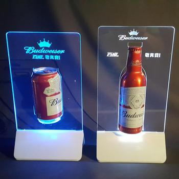 Acrylic Restaurant Advertising Promotion Menu Holder Power Bank
