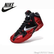 Мужская баскетбольная обувь NIKE LeBron Джеймс 12, Нескользящая дышащая Спортивная обувь для тренировок()
