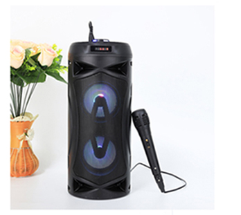 Wholesale 2019 SD card stereo music portable trolley party speaker, outdoor speaker system