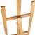 Hot selling 150 cm art pine wood floor easel stand