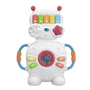 Battery operated keyboard toy plastic education Robot musical piano toy