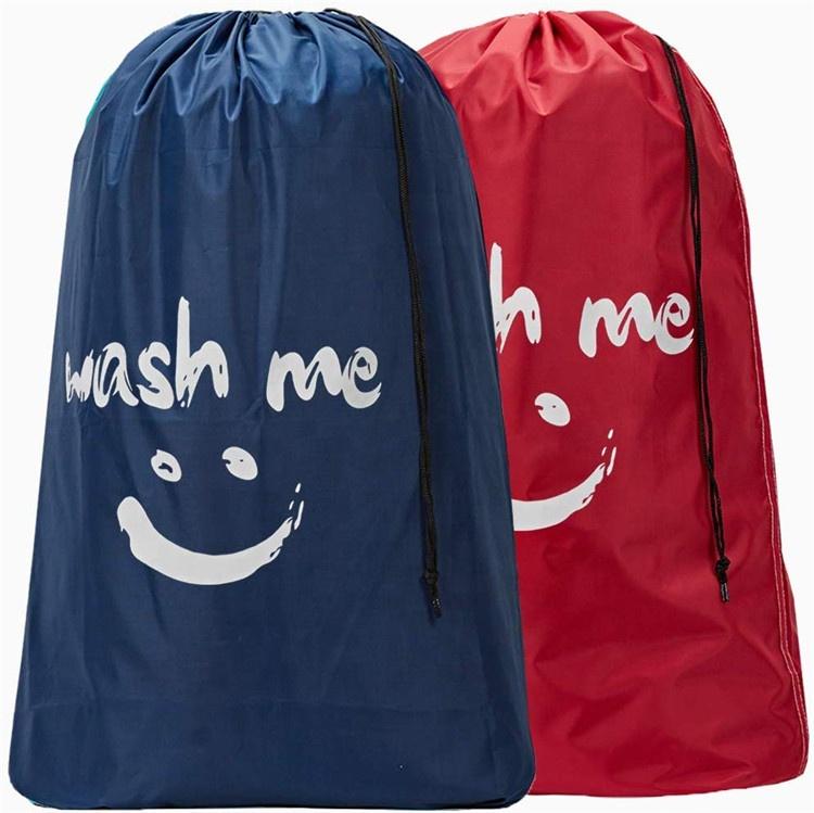 Rửa Tôi Du Lịch Túi Giặt, Rip-Stop Nylon Nhiệm Vụ Nặng Nề Bẩn Quần Áo Túi Với Dây Kéo, máy Có Thể Giặt Được, Chống Mùi