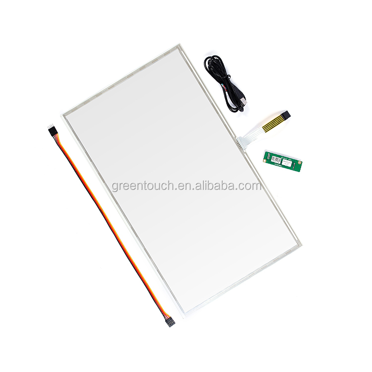 GT-5W-22A-1 5wire <strong>touch</strong> glass 22inch Resistive <strong>touch</strong> <strong>screen</strong> panel EETI USB/RS232 <strong>kits</strong>