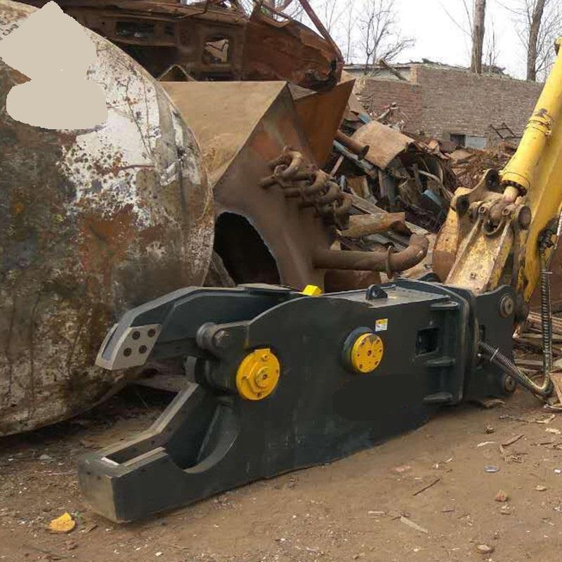Excavator Shear Cutting Machine Hydraulic Metal Shear Scrap Metal Used Demolition Eagle Shear