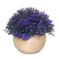 New design indoor home decor mini air artificial flowers plant in pot