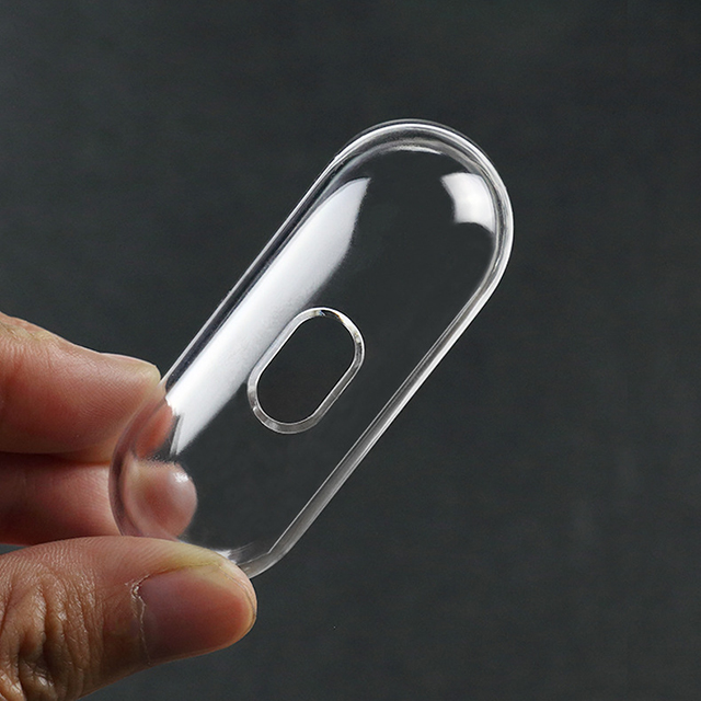 High quality cheap  for Airpods pro 3 glossy transparent PC hard case earphone case