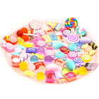 wholesale charms pendants flat back cabochon miniature assorted mixed designs artificial resin candy