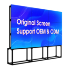 "Samsung cheap price 55"" panel mount 3x3 videowall controller advertising screen display LCD video wall"