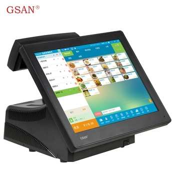 GSAN Windows 7 POS 15 inch touch screen Total set pos machine