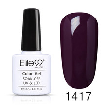 Elite99 цветок гель лак для ногтей прозрачный цветок лак для ногтей эффект цветения цветок Гель-лак отмачиваемый УФ клей для ногтей 10 мл(Китай)