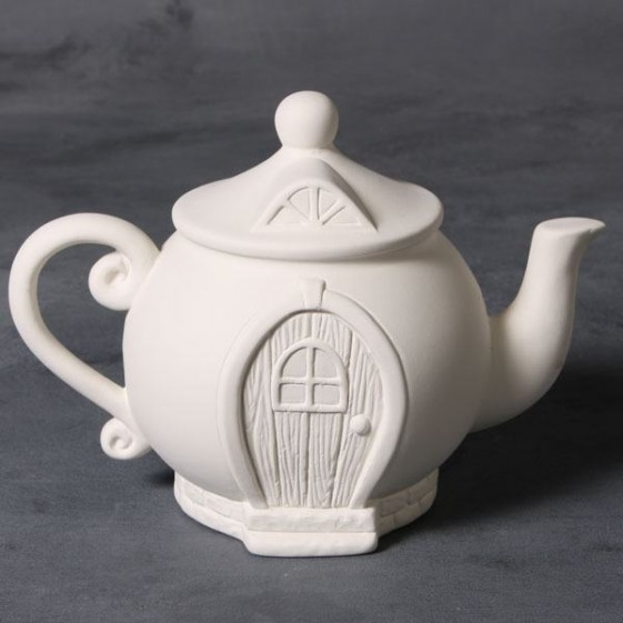 Wholesale handmade ceramic unpainted bisque