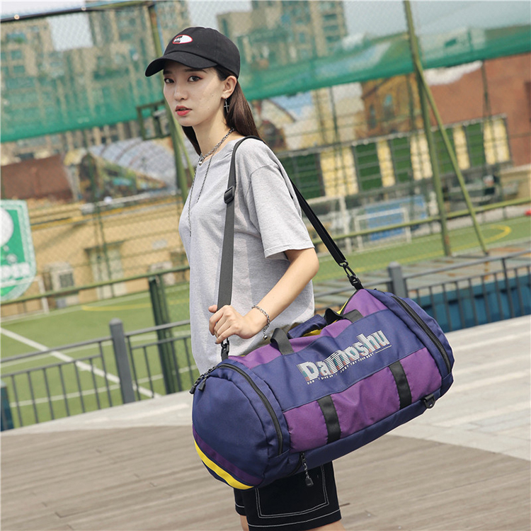 Duffel shoulder bag travel backpack large sports gym bag