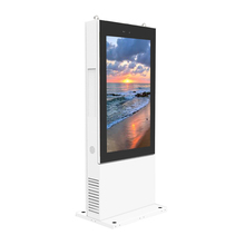 55 Inch IP65 Waterdicht Informatie Kiosk Lcd <span class=keywords><strong>Reclame</strong></span> Digital Signage Display Totem Outdoor