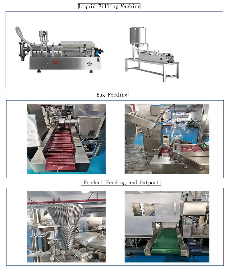 Automatic Premade Pouch Barbeque Tomato Paste Sauce Ketchup Packaging Machine