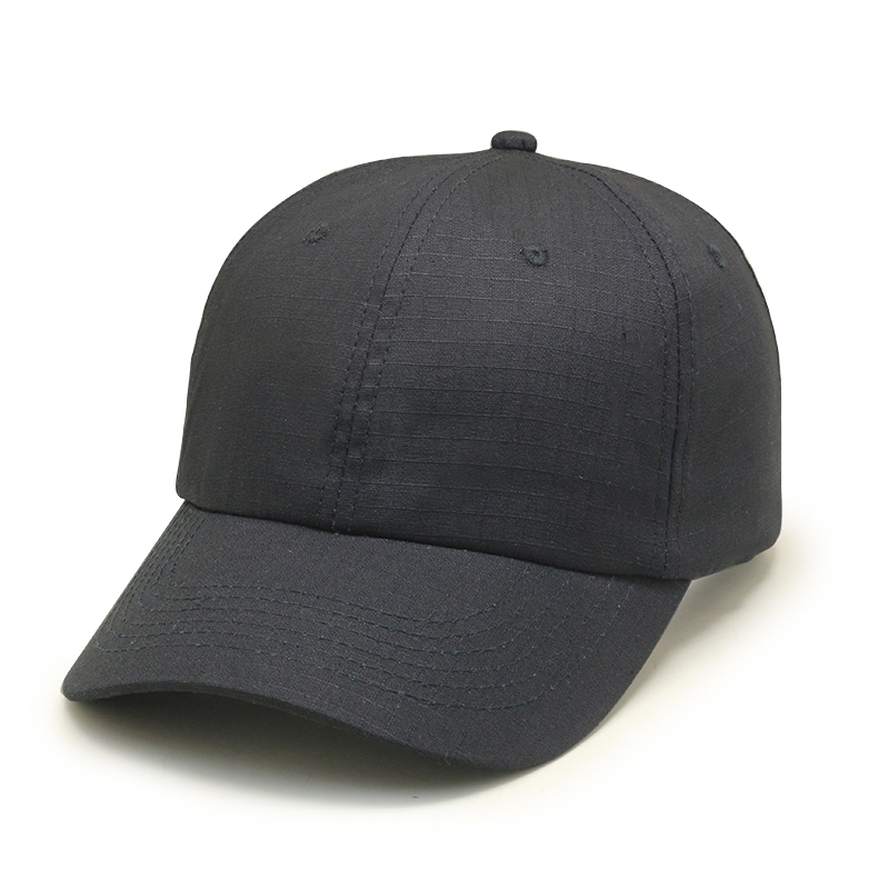 hot selling cotton stone wash baseball cap distressed black dad hat for adults